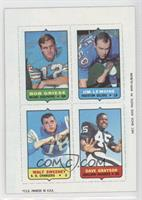 Bob Griese, Jim LeMoine, Walt Sweeney, Dave Grayson