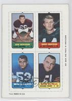 Gene Hickerson, Donny Anderson, Mike Lucci, Dick Butkus [GoodtoVG&#…