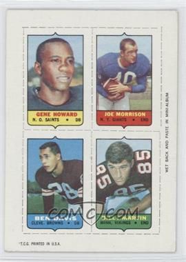 1969 Topps Mini-Cards (4-in-1) #HMDM - Gene Howard