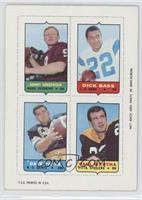 Sonny Jurgensen, Dick Bass, Dave Parks, Paul Martha [GoodtoVG&#8209…