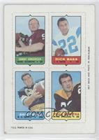 Sonny Jurgensen, Dick Bass, Dave Parks, Paul Martha [Poor to Fair]