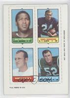 Walter Johnson, Tucker Frederickson, Dave Lloyd