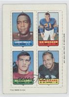 Eddie Meador, Ray Ogden, Bart Starr [Good to VG‑EX]