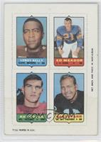 Leroy Kelly, Ed Meador, Ray Ogden, Bart Starr