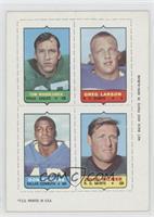 Tom Woodeshick, Greg Larson, Don Perkins, Billy Kilmer [GoodtoVG&#8…