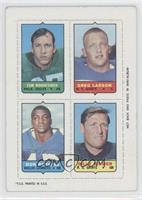 Tom Woodeshick, Greg Larson, Don Perkins, Billy Kilmer [PoortoFair]