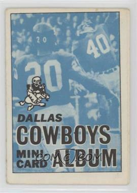 1969 Topps Mini-Cards Stamp Albums - [Base] #5 - Dallas Cowboys [Good to VG‑EX]