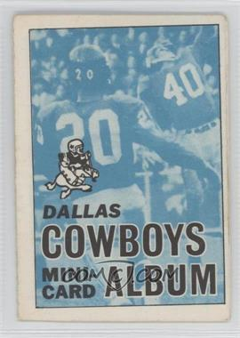 1969 Topps Mini-Cards Stamp Albums #5 - Dallas Cowboys [Good to VG‑EX]
