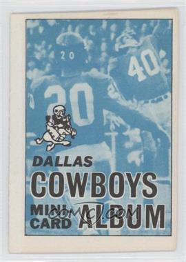 1969 Topps Mini-Cards Stamp Albums #5 - Dallas Cowboys [GoodtoVG‑EX]