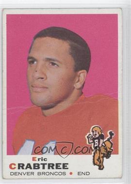 1969 Topps #151 - Eric Crabtree