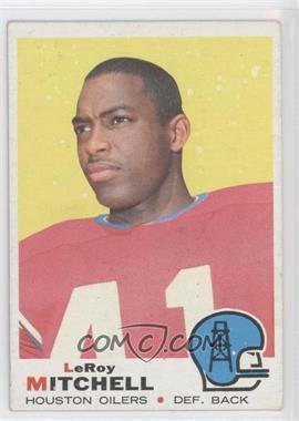 1969 Topps #183 - Leroy Mitchell