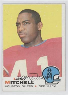 1969 Topps #183 - Leroy Mitchell [Good to VG‑EX]
