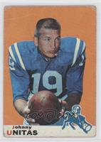 Johnny Unitas [Good to VG‑EX]