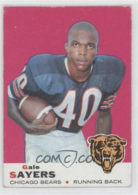1969 Topps #51 - Gale Sayers