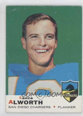 1969 Topps #69 - Lance Alworth