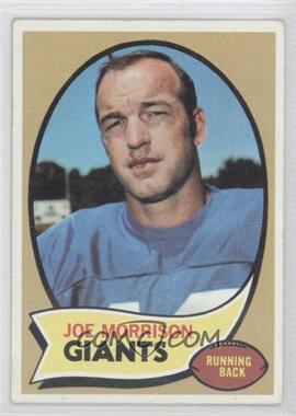 1970 Topps - [Base] #105 - Joe Morrison