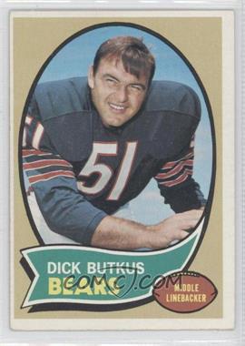 1970 Topps - [Base] #190 - Dick Butkus