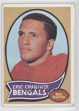 1970 Topps - [Base] #58 - Eric Crabtree [GoodtoVG‑EX]