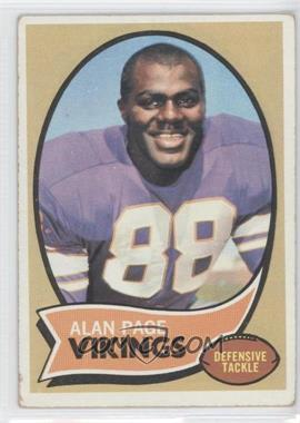 1970 Topps - [Base] #59 - Alan Page [Good to VG‑EX]