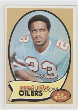1970 Topps - [Base] #89 - Jerry LeVias [Poor to Fair]