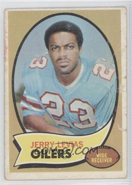 1970 Topps - [Base] #89 - Jerry LeVias [Poor]