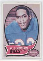 O.J. Simpson [Good to VG‑EX]