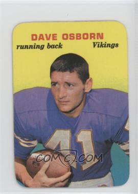 1970 Topps Super Glossy - [Base] #13 - Dave Osborn