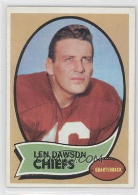 1970 Topps #1 - Len Dawson