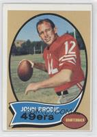 John Brodie [Good to VG‑EX]