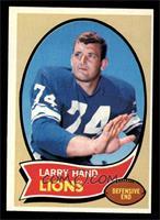 Larry Hand [VGEX]