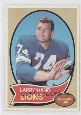 1970 Topps #149 - Larry Hand