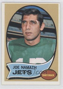 1970 Topps #150 - Joe Namath