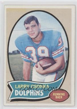 1970 Topps #162 - Larry Csonka
