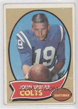 1970 Topps #180 - Johnny Unitas