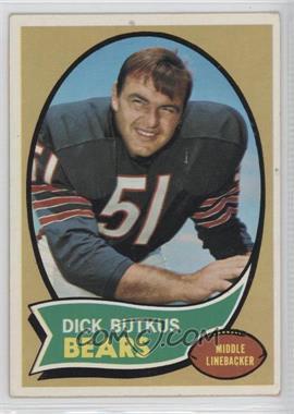 1970 Topps #190 - Dick Butkus