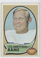 Les Josephson [Good to VG‑EX]