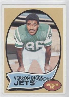 1970 Topps #3 - Verlon Biggs