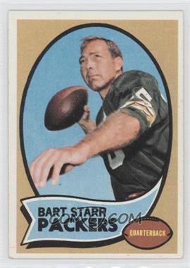 1970 Topps #30 - Bart Starr [GoodtoVG‑EX]