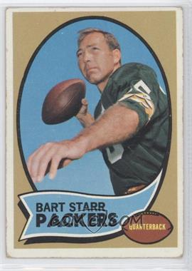 1970 Topps #30 - Bart Starr