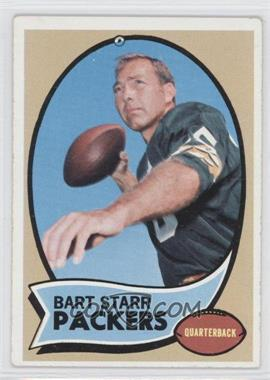 1970 Topps #30 - Bart Starr [Good to VG‑EX]