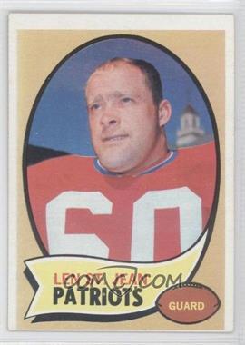 1970 Topps #33 - Len St. Jean