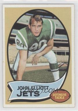1970 Topps #54 - John Elliott