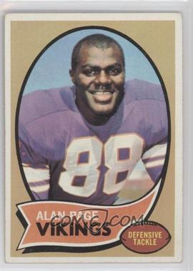 1970 Topps #59 - Alan Page