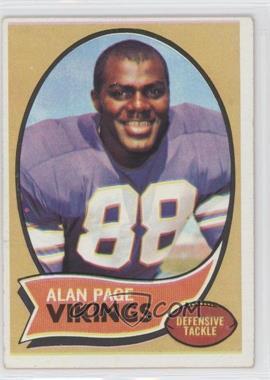 1970 Topps #59 - Alan Page [GoodtoVG‑EX]