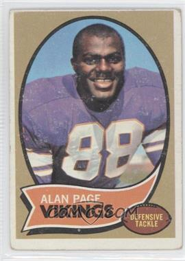 1970 Topps #59 - Alan Page [Good to VG‑EX]