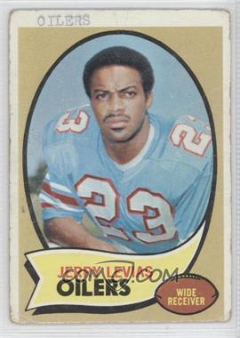 1970 Topps #89 - Jerry LeVias [Poor to Fair]