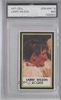 Larry Wilson [ENCASED]