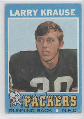 1971 Topps - [Base] #12 - Larry Krause [PoortoFair]