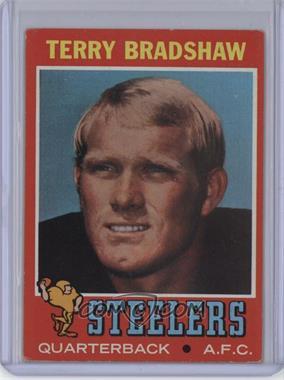 1971 Topps - [Base] #156 - Terry Bradshaw [GoodtoVG‑EX]