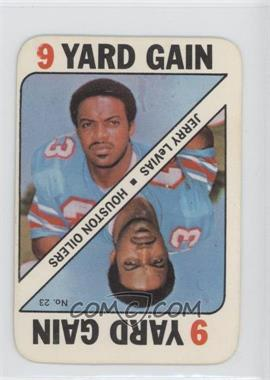 1971 Topps Game Cards #23 - Jerry LeVias